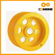 Farm Machine Conveyor Head Pulley 4C3038