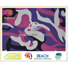 300t Poly Pongee Desert Camouflage Printing Fabric (ZCBP122)