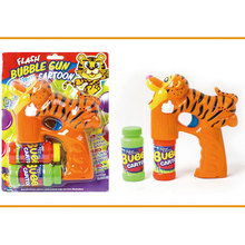 Outdoor Summer Toy Tiger Bubble Gun Toy