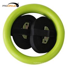 Оптовая Фабрика фитнес красочные тренажерный зал кольца ABS