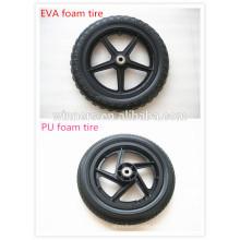 Neumático ligero de la espuma de 10 12 14 16 pulgadas para el coche del bebé