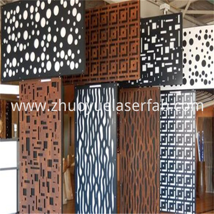 laser cutting metal screen