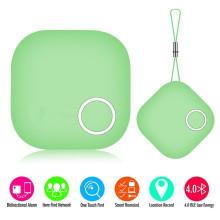Bluetooth и GPS Анти-потерянный трекер слежения бумажник ключ Трассирующими Искатель (зеленый)
