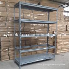 5 Prateleiras de nivelamento Prateleira de armazenamento em aço de aço completo