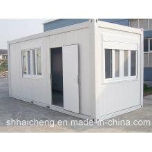 Дом контейнера и дом с