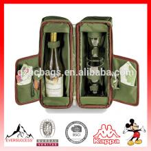 Nouveau sac de vin de vente chaude vin sac fourre-tout pour pique-nique (ES-Z336)