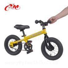 Alibaba vente en ligne équilibre vélo poids léger 12 polegada / Chine usine jouet vélo équilibre / pédale vélos gratuits pour les enfants 2 en 1