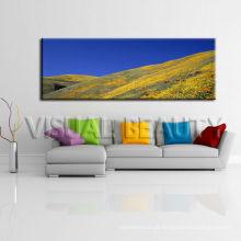Pintura panorâmico excelente da lona da paisagem
