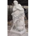 Estatua tallada del mármol de la piedra del granito para la decoración del jardín (SY-X1377)