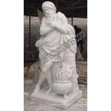 Резной гранитный камень мраморная статуя для украшения сада (SY-X1377)