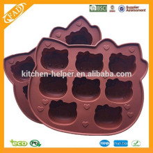 Popular 3D Silicone Cake Mold, Many Kinds Of hello kitty Shape Jelly,Candy,Chocolate,Soap Mold