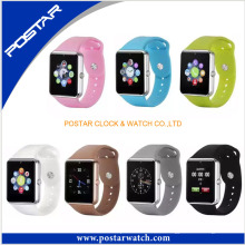Elegante reloj inteligente de color caramelo Reloj inteligente de movimiento digital multifunción