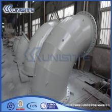 Tubo de aço carbono carbono de alta pressão personalizado para draga (USC6-003)