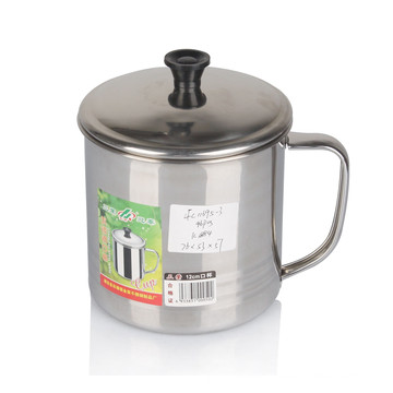 Selling Best Design 8-13cm 6PCS Stainless Steel Mug with Lid
