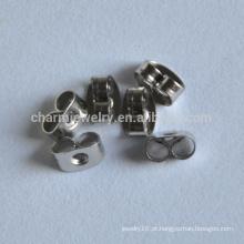 BXG024 Deluxe Butterfly Embreagens Surgical Aço Inoxidável - brinco Backs, jóias descobertas brinco