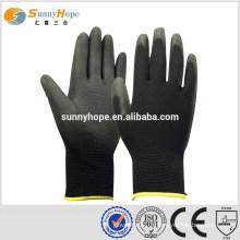 Sunnyhope pu enroulés à la main des fabricants de gants à main tricotés en Chine