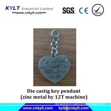 Zinc Metal Die Castig Key Pendant