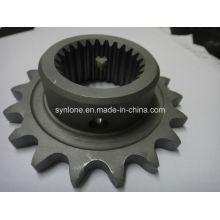 CNC Machining Process Steel Chain Wheel