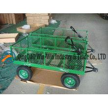 Chariots de jardin en treillis d'acier Tc1840