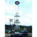 K-48 16inch 50 Durchmesser 5thickness Becher Base 7mm Wabenscheibe Perc zu Duschkopf Glas Rauchen Wasser Rohr