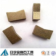 Segmento de diamante de multicamadas para Single corta granito preço baixo