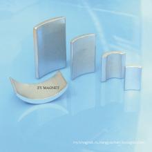 Изготовленный на заказ различные дуги Неодимия ndfeb магнит и ts16949/iso14001 место