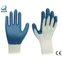 Latex Palm Coated, Luvas de segurança de acabamento suave