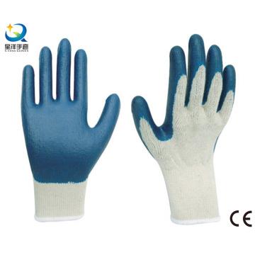 Перчатки латексные лакированные, гладкие отделочные рабочие перчатки
