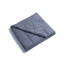 Algodón orgánico sensorial pesado pesado manta 15 libras