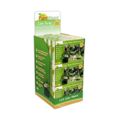 Environmental Cardboard Dump Bins for Gardening, Retail Paperboard Display