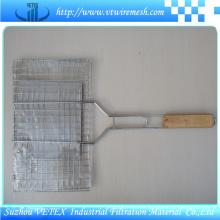 Malla de alambre de barbacoa de acero inoxidable 316