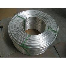 Alumnum rond tube / tuyau / bobine pour four à gaz, échangeur de chaleur, climatiseur