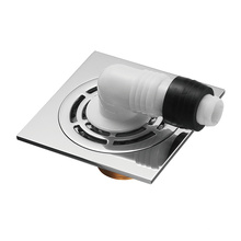 Drain de plancher de machine à laver désodorisant en cuivre HIDEEP