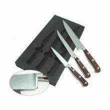 Damascus knife set