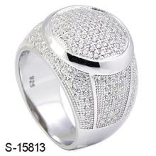 Novo modelo de moda jóias 925 anel micro prata esterlina