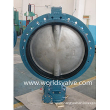 JIS10k Single Flanged Wafer Type Butterfly Valve (D71X-10/16)