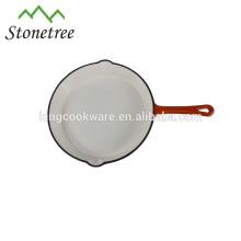 Wholesale Round Cast Iron Enamel Skillet Pan