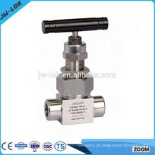 Ss válvula de gás de aço inoxidável de alta pressão