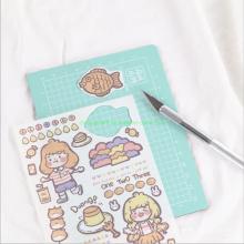 Hand Written Scrapbook Carve Gift Sticker Set