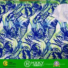 Tissu imprimé par polyester tissé pour des robes ou des chemises de dame