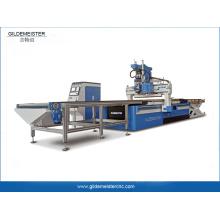 CNC-Router-Maschine zum automatischen Laden und Entladen