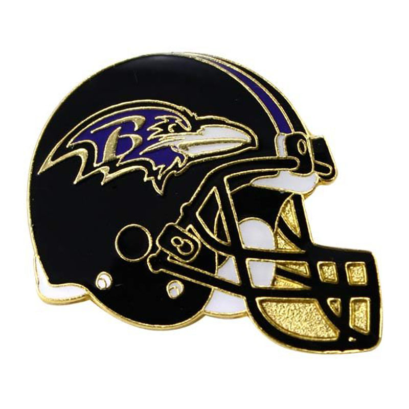 Nfl Helmet Metal Pin