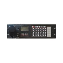 Painel de controle de transmissão para sistema de comunicação de emergência
