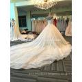 Vestido de boda grueso de las mujeres del hombro 2017 DY020