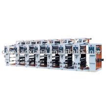 Máquina de impresión en color Intaglio de velocidad normal ASY-A600