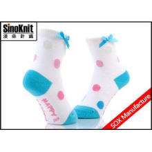 Bowknot Colorful Kids Spring Autumn Cotton Children Baby So