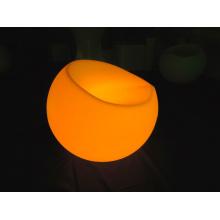 Nacht Club Möbel Plastik wiederaufladbare LED Apfelsofa (G007)