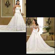 Embrodery Good Beading Wedding Dress