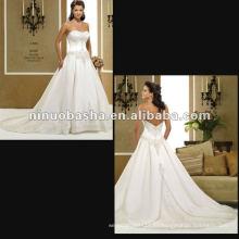 Хороший Вышивкой Бисером Свадебное Платье