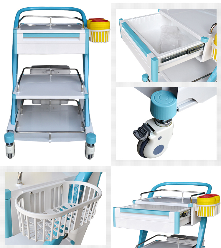 Hospital Medical Trolley